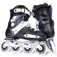 WEIQIU Inline Skates Professional Slalom Adult Roller Skating Shoes Sliding Free Skate Patins Size 35 44 Good As SEBA Sneakers