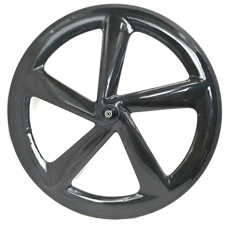NGT 5 spoke wheels carbon clincher five spoke wheel chrome 5 spoke wheeling for road bike and bicycle|Bicycle Wheel| |  - title=