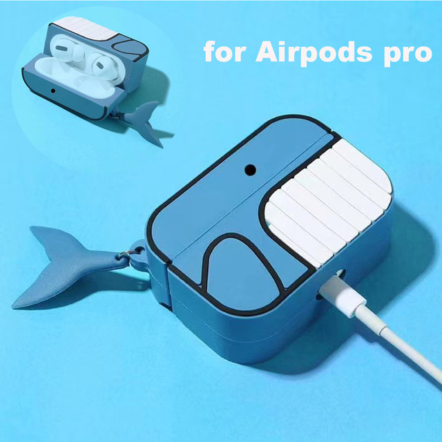 E7539-Cute Whale Case for Airpods Pro-1