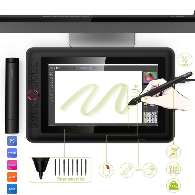 XP-PEN Artist 12 Pro 11,6 Zoll Grafiktablett mit Stift 3