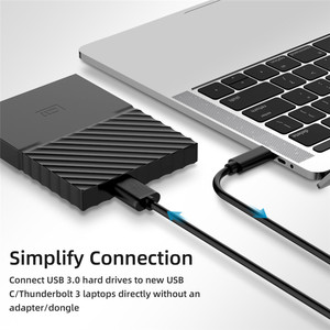 Image 3 - USB 3.1 Type C to Micro B Cable Connector Male to Male Charging Data Cable For External Hard Drive Disk HDD