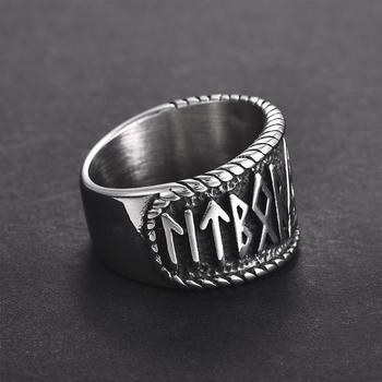 Bague viking rune