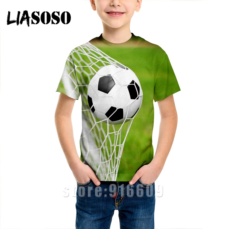 T-shirt 3D Print Men Women Soccer Anime T Shirt Football Tees Top Harajuku KIDS Shirts Baby Children Tshirt Fashion Short Sleeve