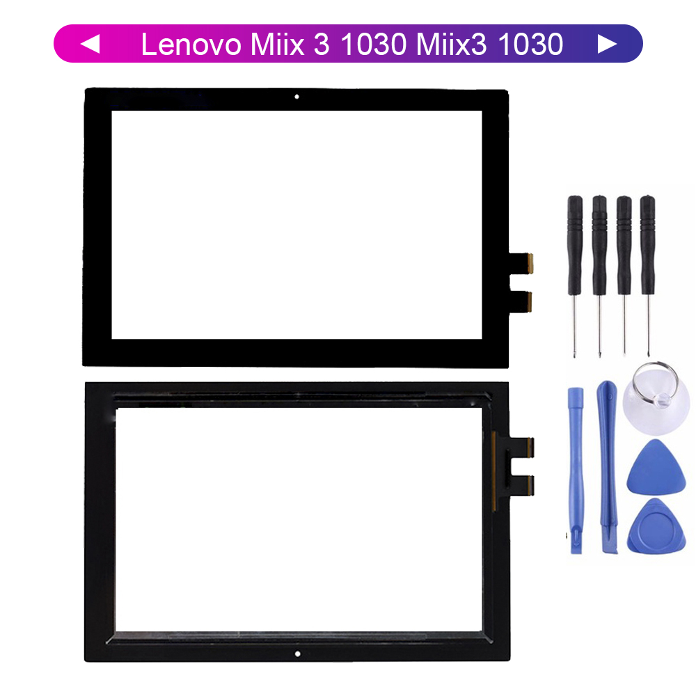 KUERT For Lenovo Miix 3 1030 Miix3 1030 Touch Screen Digitizer Touch Panel Glass Free Tools
