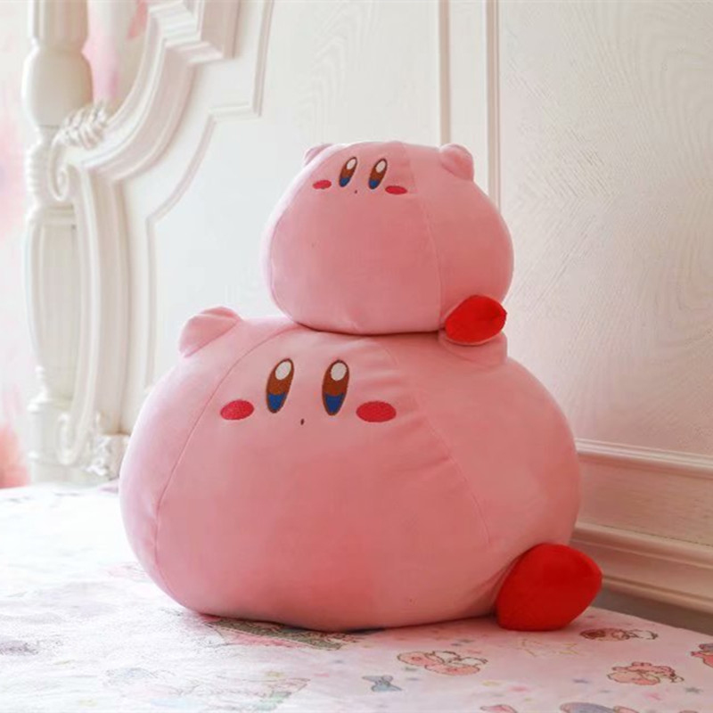 New Game Kirby Adventure Kirby Plush Toy Soft Doll Large Stuffed Animals Toys for Children Birthday Gift Home Decor image