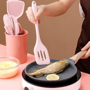 Image 2 - Juego de cocina de silicona antiadherente resistente al calor, utensilios de cocina, accesorios de cocina, 5/10/11 Uds.