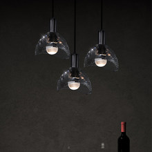 Modern K9 crystal chandelier bedroom LED copper Nordic lights hanging dining room bar chandelier interior decoration lighting