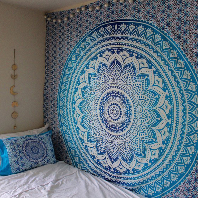 Large Mandala Wall Tapestry 4