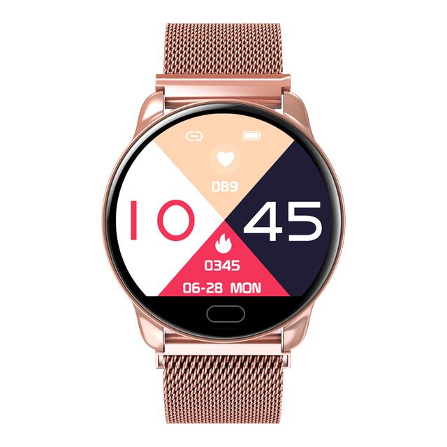 SANDA 1.22″ Full Screen Smart Watch Men Women Heart Rate Blood Pressure Monitor Fashion Sport Smartwatch Fitness Bracelet Reloj