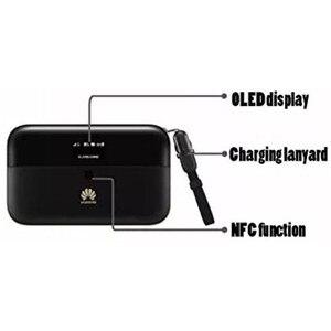 Image 5 - Huawei社E5885Ls 93a Cat6 携帯wifi PRO2 300 150mbpsの 4 4g lteモバイルwifiホットスポットとe5885 6400 2600mahのパワーバンクバッテリールータモデム