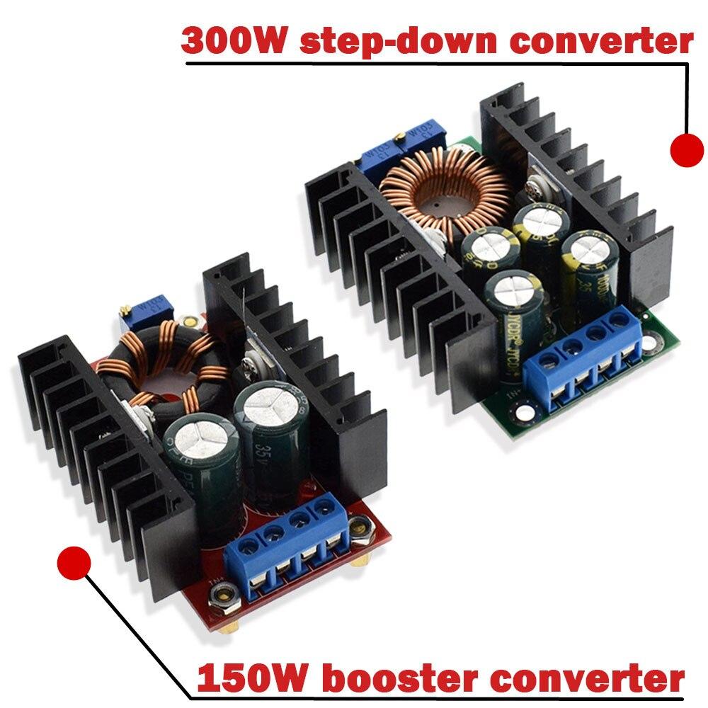 1 шт., повышающий преобразователь постоянного тока 9A 300 Вт 150 Вт, понижающий преобразователь 5-40 В до 1,2-35 в, силовой модуль XL4016