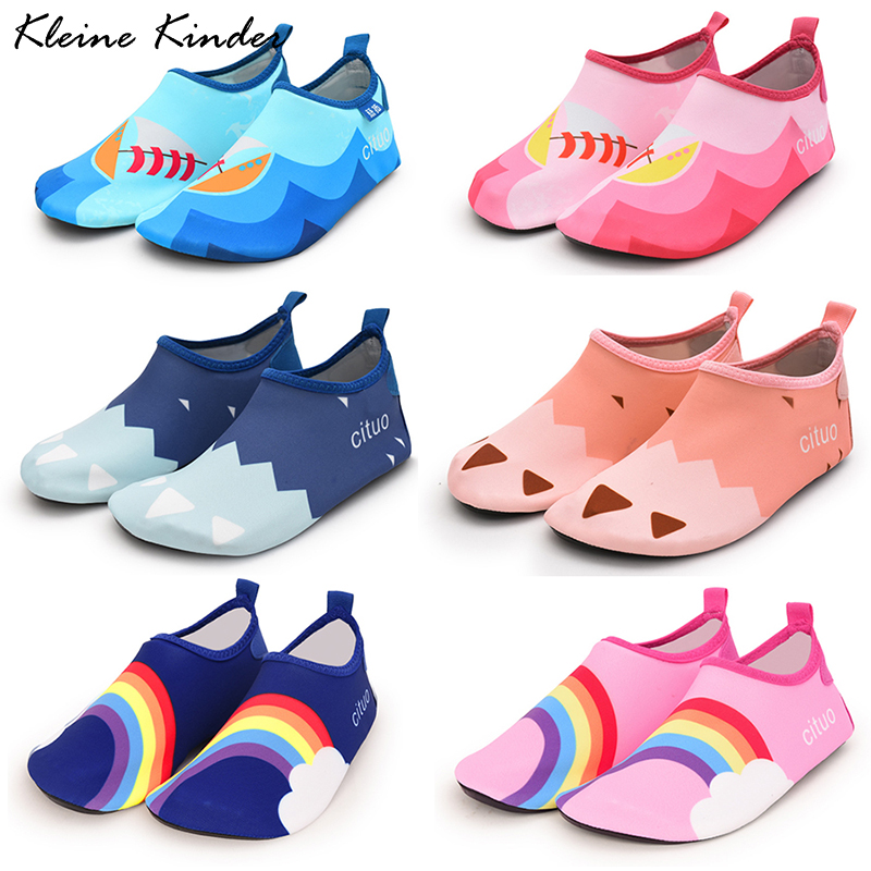 Swimming Shoes Kids Beach Shoes For Water Children Pool Bathing Slippers Barefoot Shoe Child Boys Girls Sneakers For The Sea