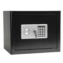 Caja de Seguridad Digital con contraseña, caja de seguridad con fuerte acero para guardar dinero, caja de seguridad para el hogar, guardar joyas en efectivo o documentos 37X31X30CM 9,5 kg
