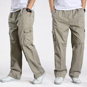 Image 3 - Men Harem tactical Pants 2020 Sagging cotton pants men Trousers plus size sporting Pant Mens Joggers Casual pants 6XL