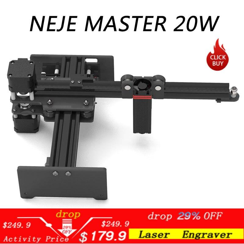 20W CNC Laser Engraver Laser Engraving Machine Mini Desktop Laser Engraver Printer Portable Household DIY Laser Engraving Cutter