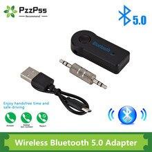 Pzzpss 2 In 1 Draadloze Bluetooth 5.0 Ontvanger Zender Adapter 3.5Mm Jack Voor Auto Muziek Audio Aux A2dp Hoofdtelefoon reciever