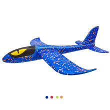 Hand Throw Flying Glider Planes Toys For Children EPP  Foam Airplane Outdoor Launch Plane Kids Gift 48CM Interesting