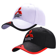 Hat Cap Baseball-Cap Trucket-Hat Car-Logo Moto Gp Racing-F1 Wholesale Mitsubishi Adjustable
