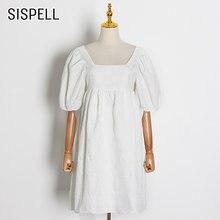 Женское платье с коротким рукавом sispell свободное Повседневное