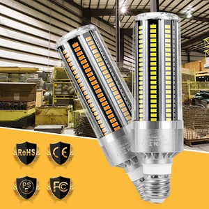 E27 Corn Light Ampul LED 220V Lampara 25W 35W 50W No Flicker Intelligent Bulb Led E26 Candle Lamp SMD 5730 110V Gym Supermarket