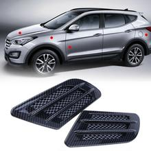 Yfashion Car Vent Hole Cover Side Air Flow Intake Grille Duct Decoration Sticker