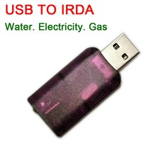 USB إلى IRDA الأشعة تحت الحمراء معدات الاتصالات الاتصالات التصحيح اختبار عداد المياه ، متر كهربائي ، قراءة الغاز