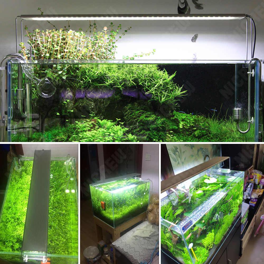 Nicrew 30cm-70cm Chihiros A PLUS Series akwarium światła LED do wzrostu roślin
