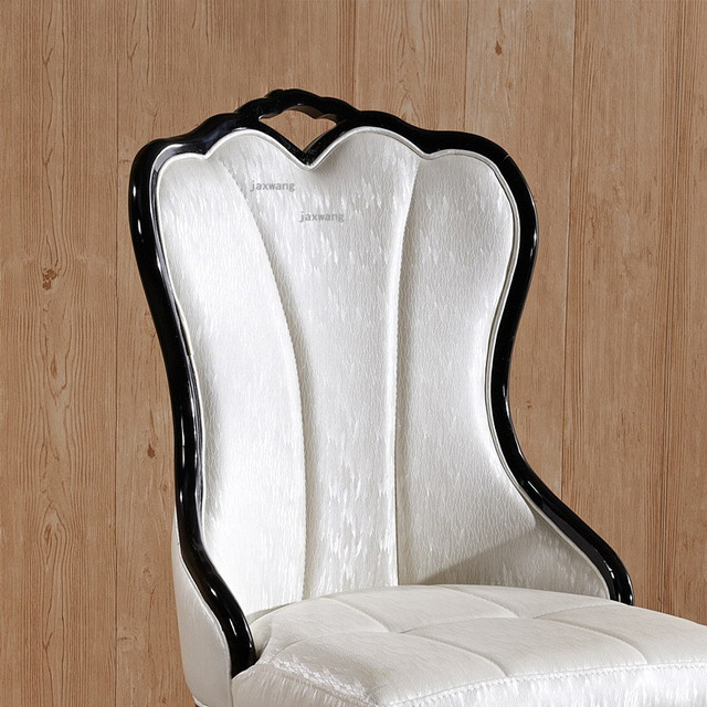 European Style Solid Wood Dining Chair 3