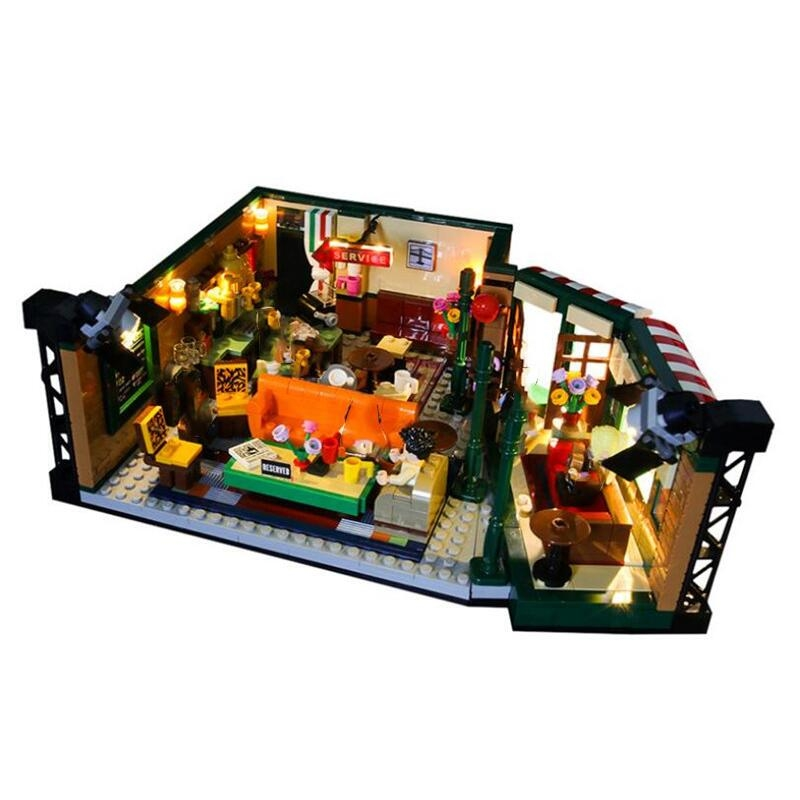 In Stock Classic TV American Drama Friends Central Perk Cafe Fit Reproduction Building Block Bricks Toy
