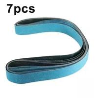 7* Zirconia Sanding Belts 2 *72 Inch 120 Grit Zirconia Sanding Belts Metal Grinding Polishing And Grinding Sander For Home Diy