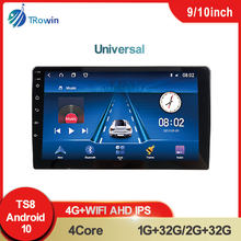 Universal 2 Din Car Radio 9/10 Inch IPS Screen Android Multimedia Video Player AHD GPS Navigation Auto Stereo For Honda Hyundai