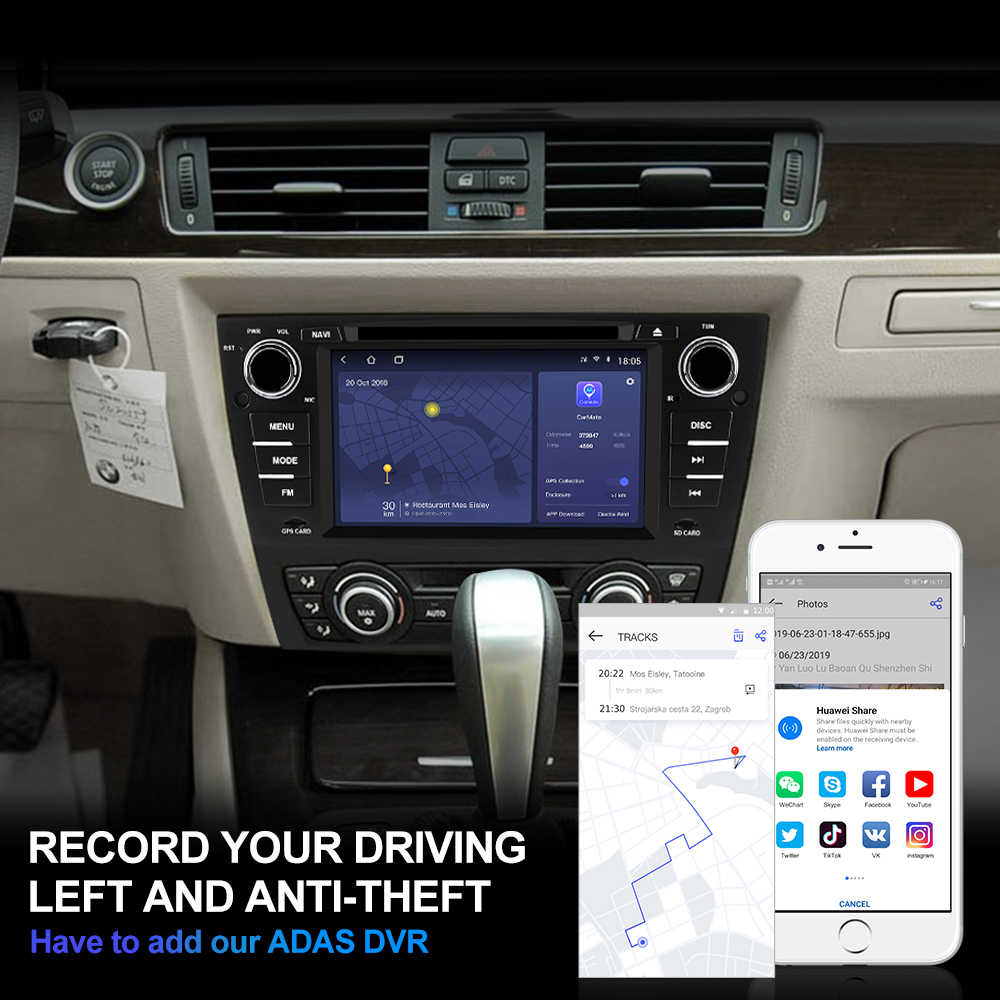 Isudar H53 4G Android 1 Din Авто Радио для BMW/3 серии E90/E91/E92/E93 автомобильный мультимедийный DVD gps 8 Core ram 4G rom 64G DVR камера