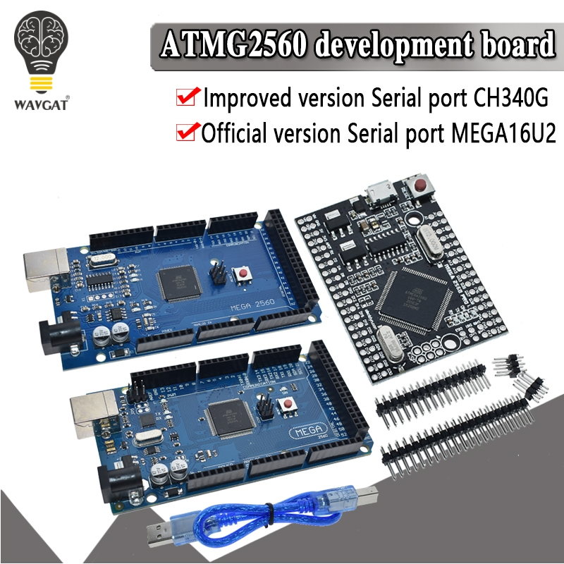 MEGA2560 MEGA 2560 R3 ATmega2560-16AU CH340G AVR USB Board Development Board MEGA2560 For Arduino