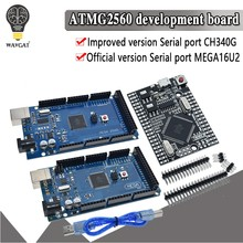 MEGA2560 MEGA 2560 R3 ATmega2560-16AU CH340G AVR USB board Development board MEGA2560 for arduino(China)