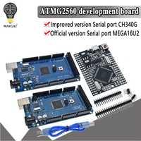MEGA2560 MEGA 2560 R3 ATmega2560-16AU CH340G AVR Placa de desarrollo USB MEGA2560 para arduino