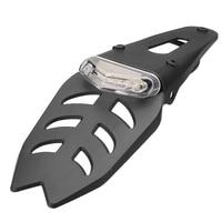 Luz trasera del guardabarros trasero de la motocicleta luz de freno LED todoterreno luz trasera de la placa de matrícula de la motocicleta todoterreno|  -