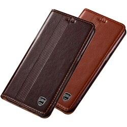 На Алиэкспресс купить чехол для смартфона genuine leather flip case card holder coque for motorola moto g7 play phone case for motorola moto g7 power magnetic phone bag