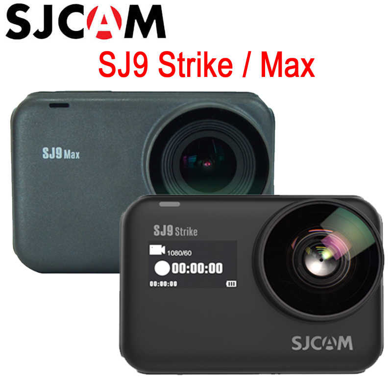 SJCAM SJ9 Seri SJ9 Strike/Max Gyro/Eis 10 M Tubuh Tahan Air 4K Action Camera Live Streaming 2.4G Wifi Olahraga Video DVR Kamera