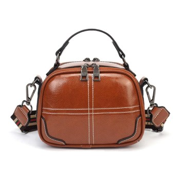 Genuine Leather Handbags Women Bag High Quality Fashion Female Bags Trunk Tote Spanish Brand Shoulder Bags Ladies Menssenger Bag bullcaptain vintage genuine leather women handbag high quality cowhide casual tote bags famous brand ladies shoulder bag