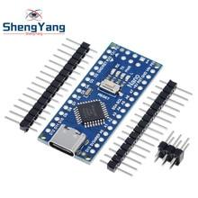 Carte de développement de Type-C / Micro pour Nano CH340, 3.0, élément électronique ATmega 328P, contrôleur compatible pour Arduino, Driver pilote USB Nano V3.0,