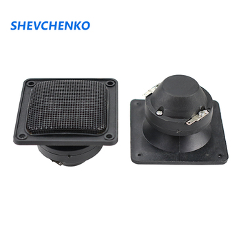 SHEVCHENKO 3 Inch Horn Treble Speaker 4 Ohm 30W Square Ceramics Piezoelectric Tweeter For Stage KTV Audio Horn Speakers 2pcs image