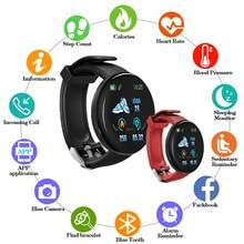 Умные часы d18 для мужчин и женщин с bluetooth 2020 Смарт тонометром