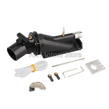 1 set 40mm Water Thruster High-speed Motor Pump Injector Jet Pump Sprayer with 5/4mm Coupling 3-blade Propeller for RC Jet Boats цена