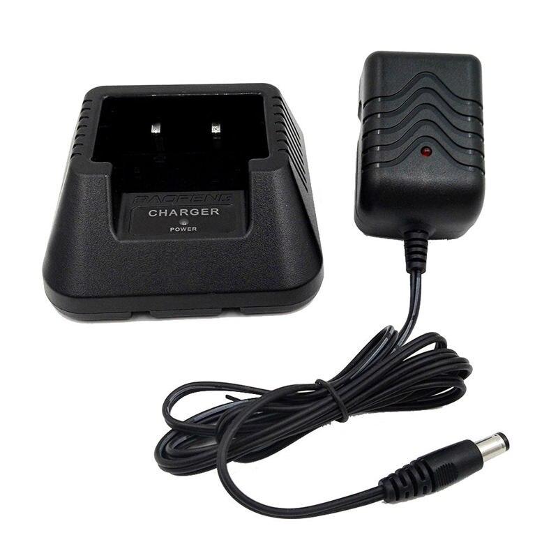 Radio Battery Desktop Charger Power Adapter For Baofeng Uv5R Plus Uv5Rb EU Plug|Chargers| |  -