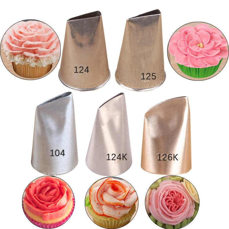 9pcs Korea Piping Tips Set Pastry Nozzles Cake Decorating Tips Cupcake Icing Piping Nozzles Wedding Cake Decorating Tools Aliexpress