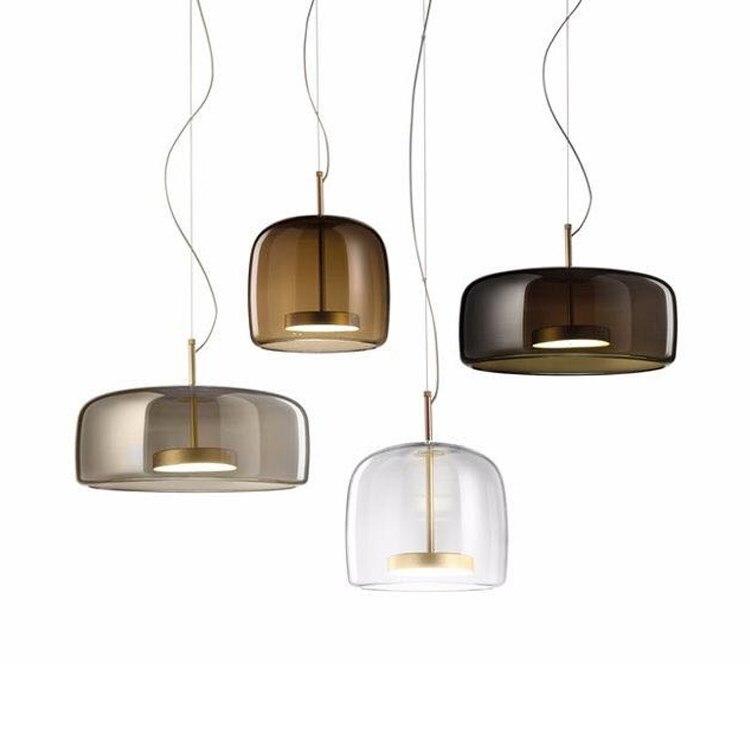 Nordic Modern Individual Glass Chandelier Lights Hotel Designer Simple Hanglamp Bar Living Room Bedroom Model Room Hanging Lamp|Pendant Lights| |  - title=