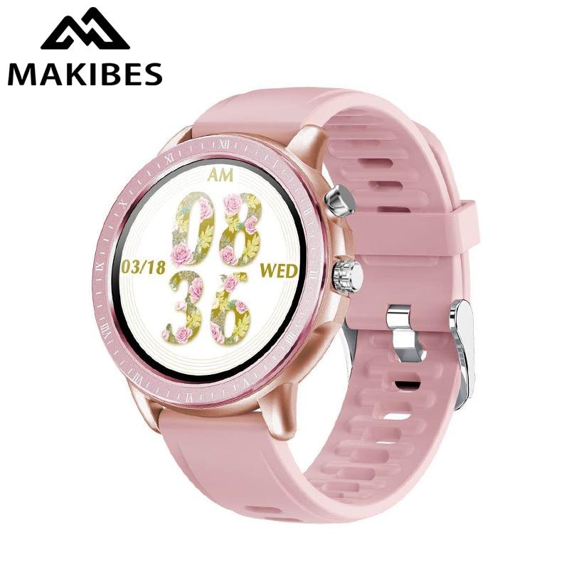 Makibes Leap 1 Outdoor Smart Watch Metal Body Clock Men Women Full Touch Screen Wristband Fitness Tracker Multi-sports Modes