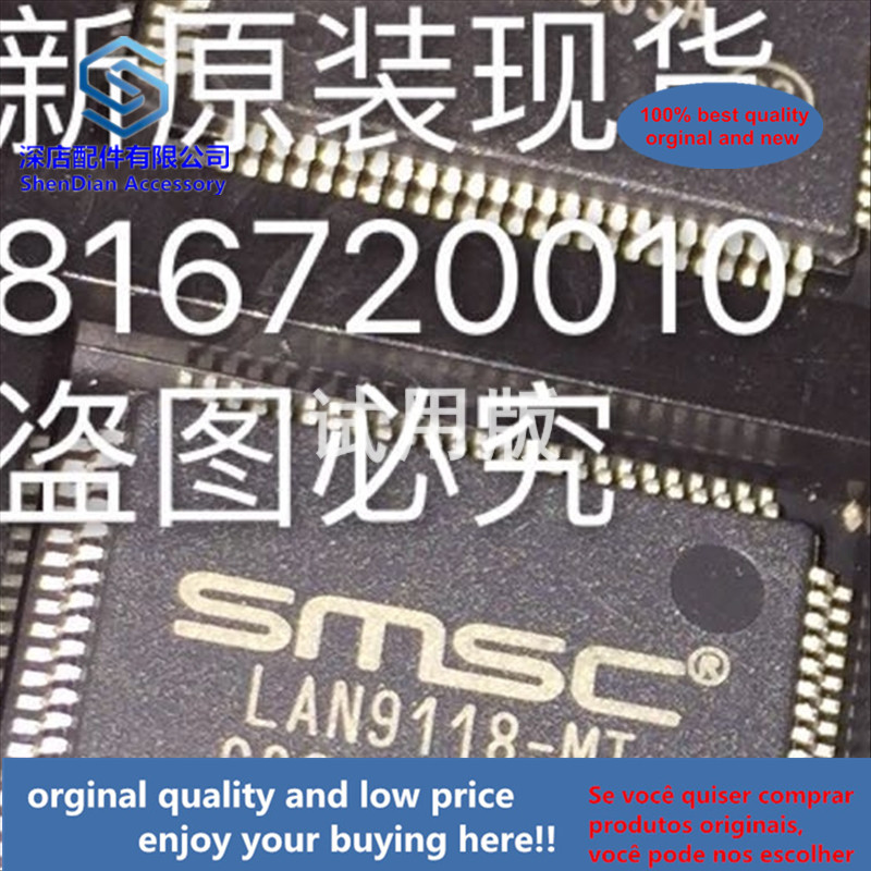 1pcs 100% Quality Orginal New  LAN9118-MT LAN9118 QFP100 Best Qualtiy