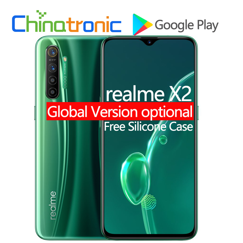 Original New realme X2 X 2 6GB 64GB 4G FDD LTE Mobile Phone 6.4