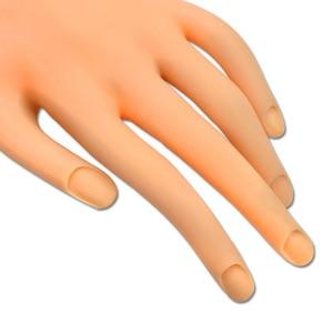 Image 3 - Faux main Flexible Nail Art formation professionnelle pour laffichage outil répété plastique souple dans la pratique prothétique manucure CHND275